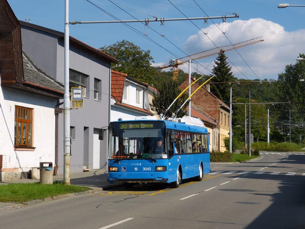 Fotogalerie » Škoda 21Tr 3045 | Brno | Komín | Hlavní | Podveská