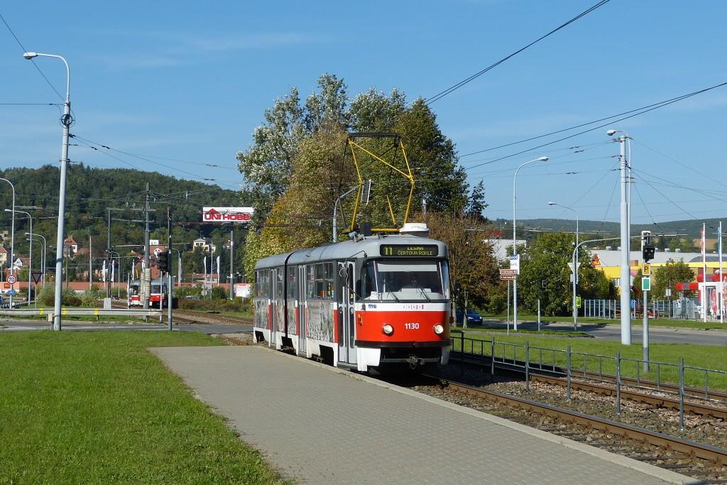 Fotogalerie » ČKD Tatra K2YU 1130 | Brno | Komín | Kníničská | Kamenolom