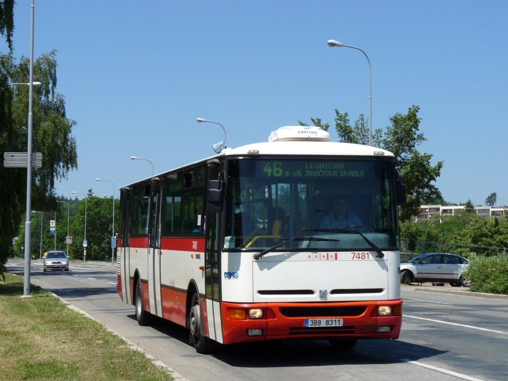 Fotogalerie » Karosa B951E.1713 3B9 8311 7481 | Brno | Lesná | Seifertova