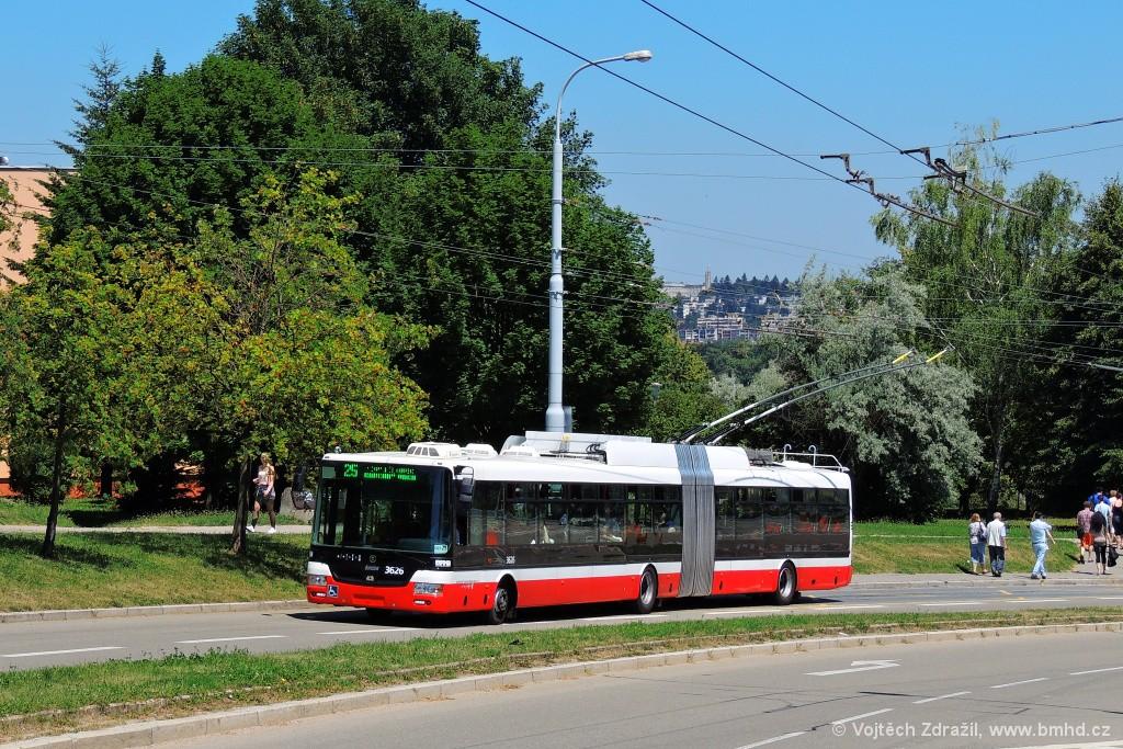 Fotogalerie » Škoda 31Tr 3626 | Brno | Nový Lískovec | Petra Křivky