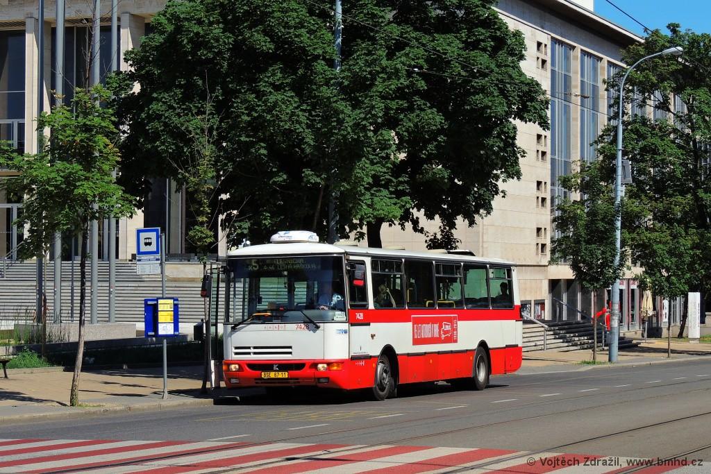 Fotogalerie » Karosa B931.1675 BSE 67-11 7428 | Brno | střed | Rooseveltova | Janáčkovo divadlo