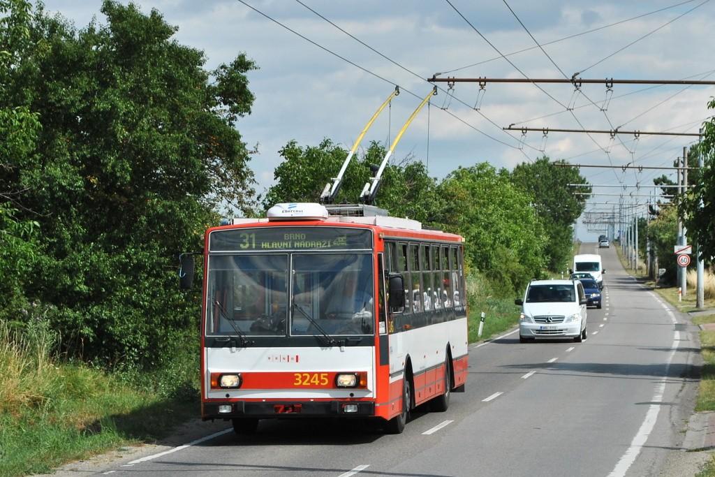 Fotogalerie » Škoda 14TrR 3245   Brno   Slatina   Šlapanická