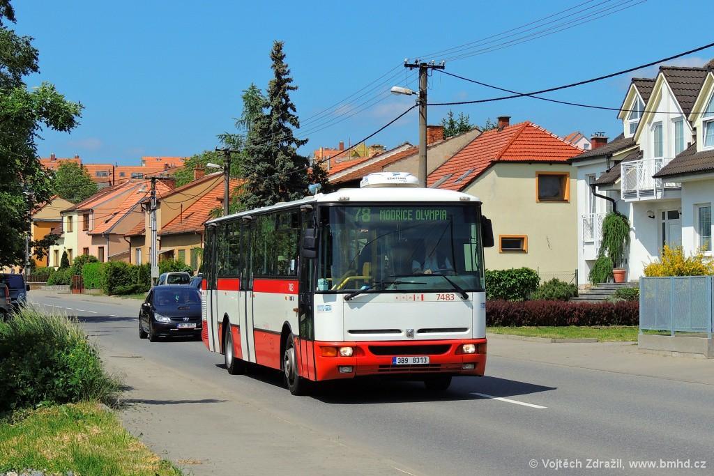 Fotogalerie » Karosa B951E.1713 3B9 8313 7483 | Brno | Líšeň | Holzova