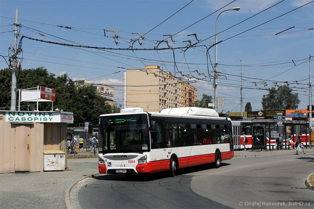 Fotogalerie » Iveco Urbanway 12M CNG 1BC 7533 7084 | Brno | Židenice | Stará Osada
