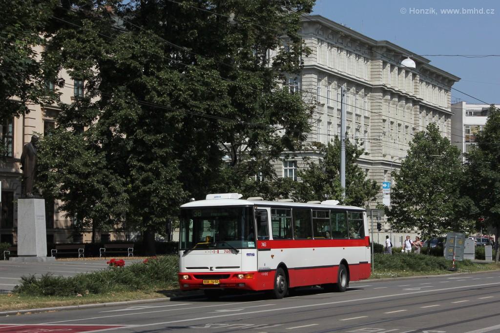 Fotogalerie » Karosa B931E.1707 BSH 14-57 7463 | Brno | střed | Komenského náměstí