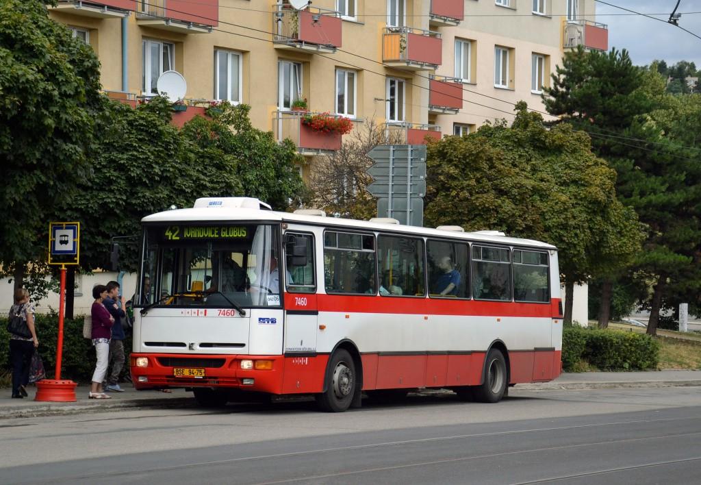 Fotogalerie » Karosa B931E.1707 BSE 94-75 7460 | Brno | Královo Pole | Kosmova | Semilasso