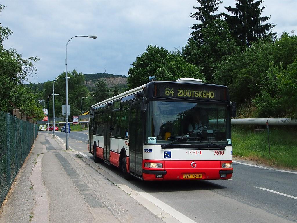Fotogalerie » Irisbus Citybus 12M 2071.20 BZM 72-40 7610 | Brno | Maloměřice | Kulkova | Depo ČD