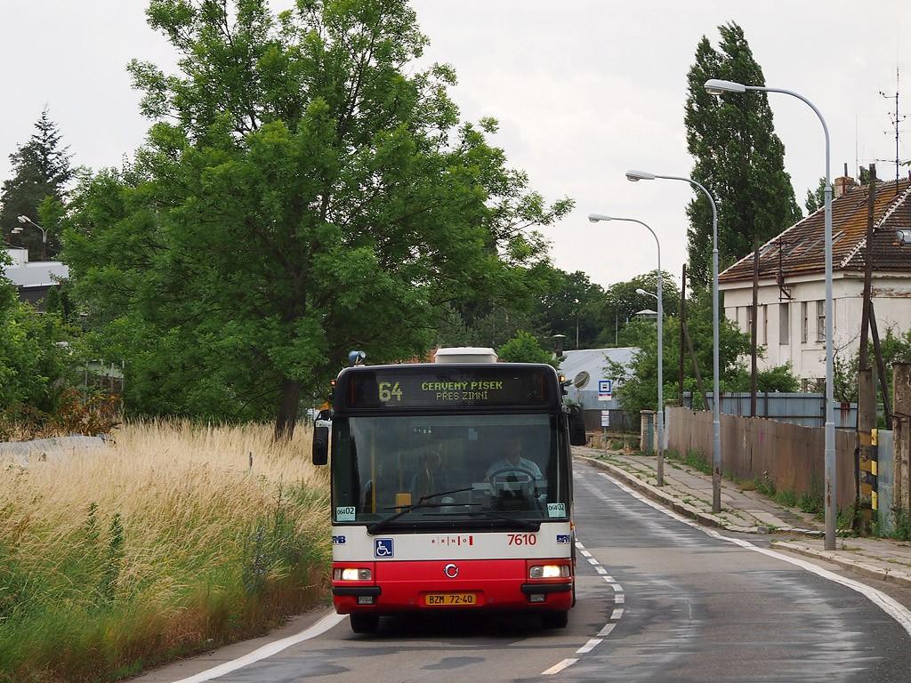 Fotogalerie » Irisbus Citybus 12M 2071.20 BZM 72-40 7610   Brno   Židenice   Kulkova