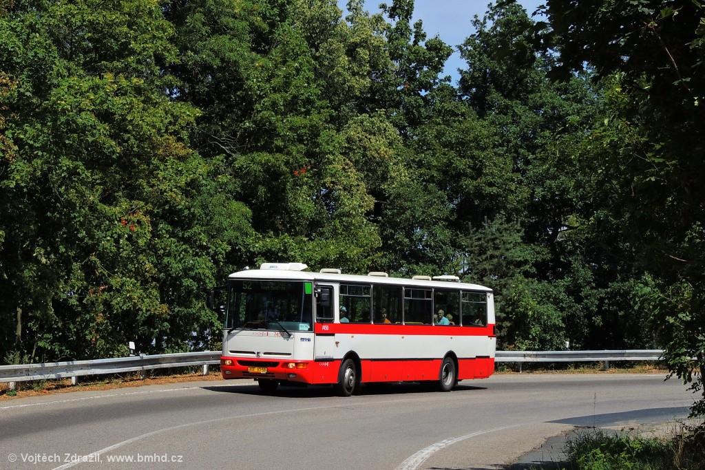 Fotogalerie » Karosa B931E.1707 BSE 83-59 7450 | Brno | Kohoutovice | Žebětínská