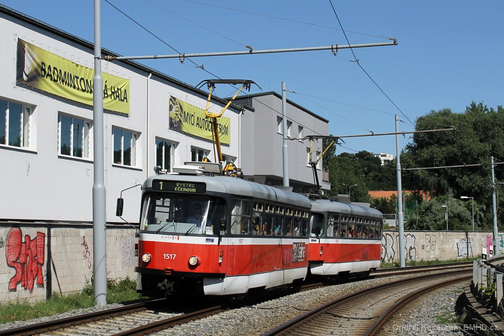 Fotogalerie » Pragoimex T3R.PV 1517 | Pragoimex T3R.PV 1558 | Brno | Žabovřesky | Kníničská