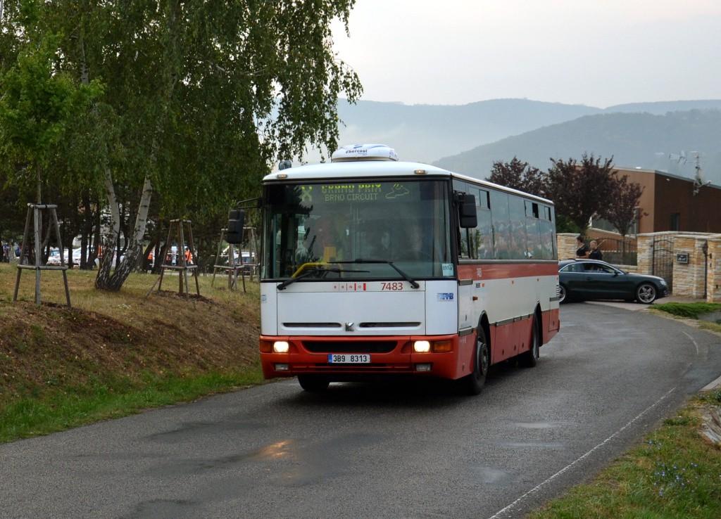 Fotogalerie » Karosa B951E.1713 3B9 8313 7483 | Brno | Žebětín | Ostrovačická