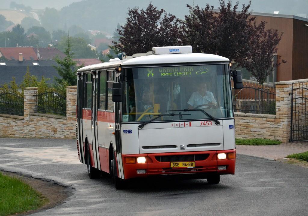 Fotogalerie » Karosa B931E.1707 BSE 94-68 7453   Brno   Žebětín   Ostrovačická