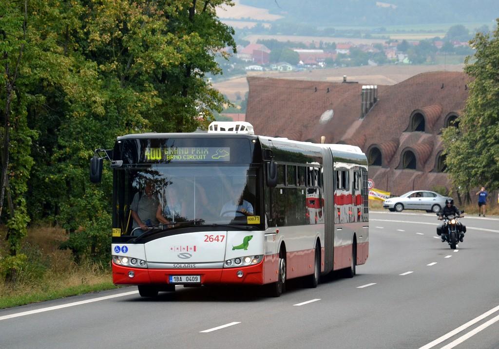 Fotogalerie » Solaris Urbino 18 III 1BA 0409 2647 | Popůvky | Vintrovna