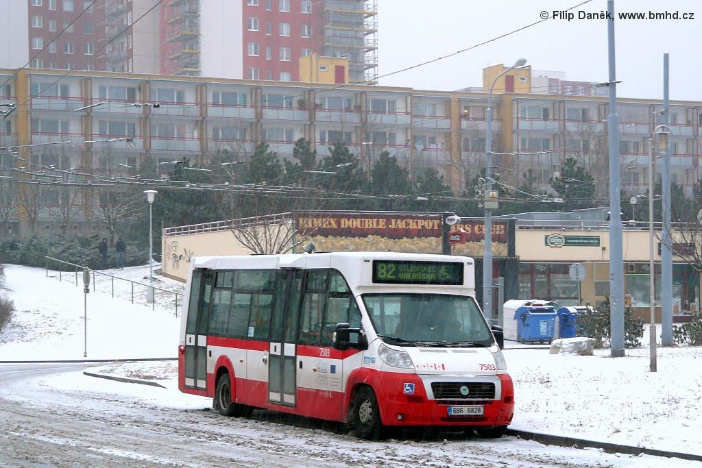 Fotogalerie » MAVE-Fiat CiBus ENA MAXI 6B6 6828 7503 | Brno | Vinohrady | Pálavské náměstí | Pálavské náměstí