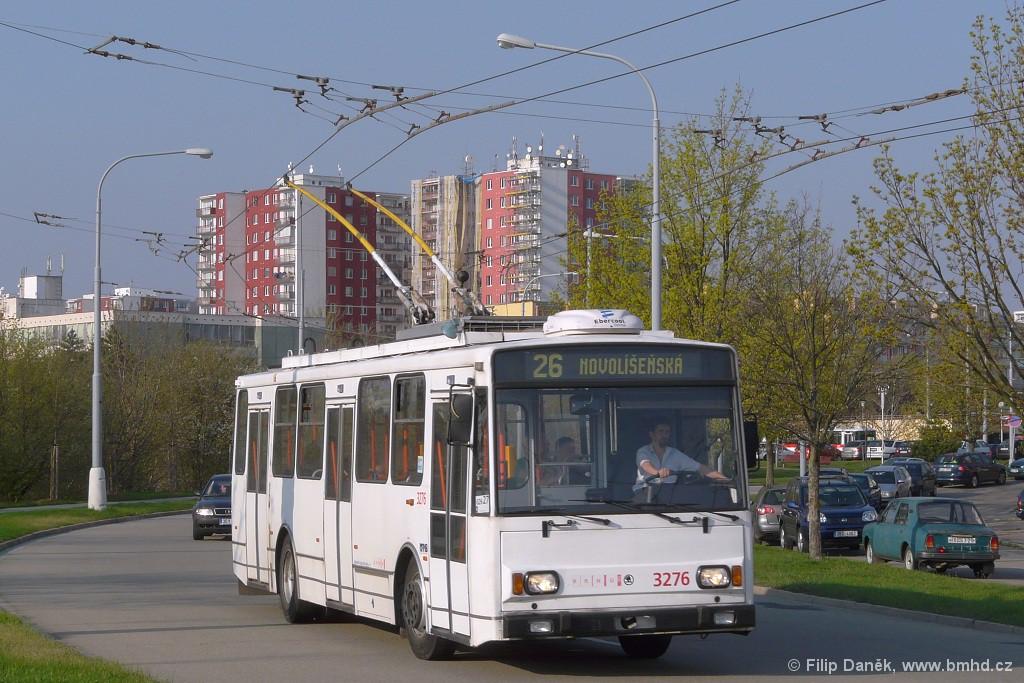 Fotogalerie » Škoda 14Tr17/6M 3276 | Brno | Vinohrady | Věstonická