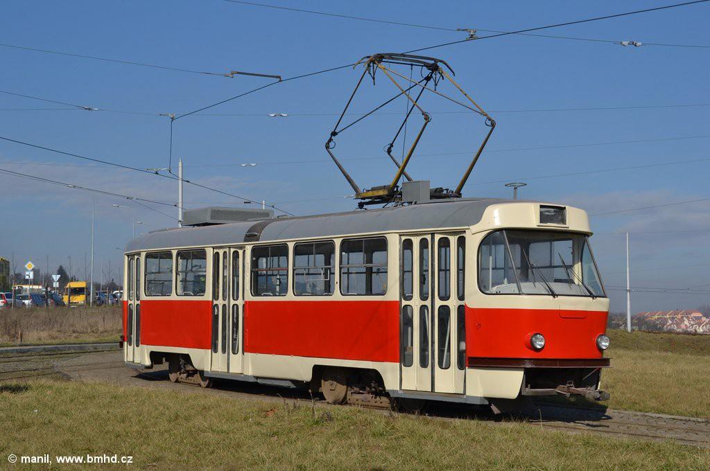 Fotogalerie » ČKD Tatra T3M 1594 | Brno | Medlánky | Purkyňova | Technologický park, smyčka