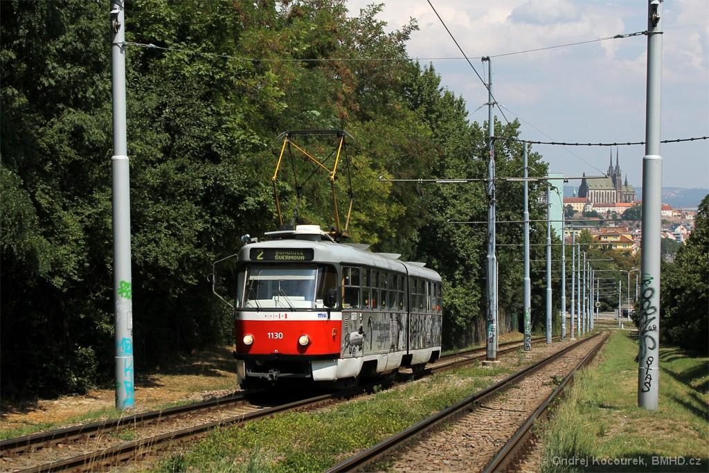 Fotogalerie » ČKD Tatra K2YU 1130 | Brno | Štýřice