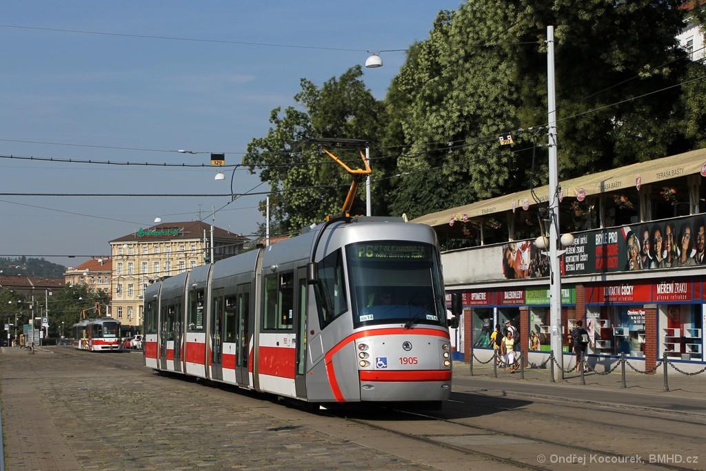 Fotogalerie » Škoda 13T1 1905   Brno   střed   Nádražní