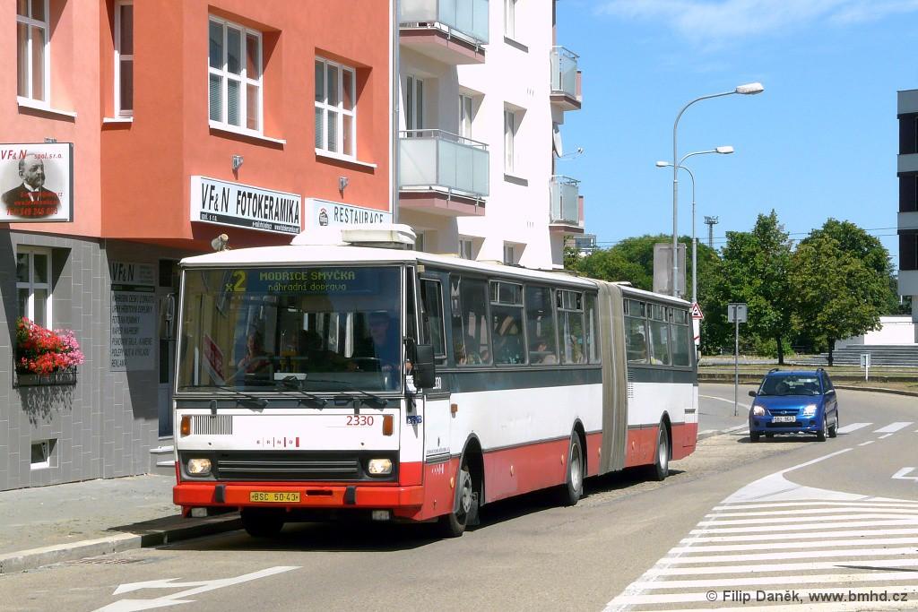 Fotogalerie » Karosa B741.1924 BSC 50-43 2330 | Brno | Štýřice | Vojtova | Vojtova