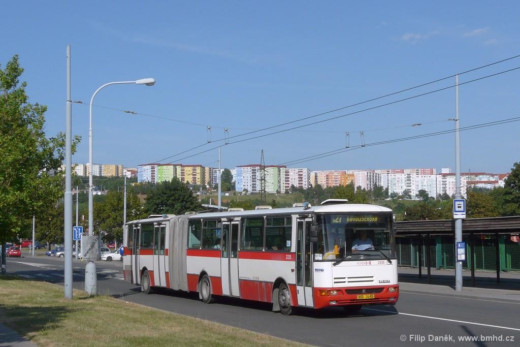 Fotogalerie » Karosa B941.1930 BSD 24-65 2335 | Brno | Vinohrady | Bzenecká
