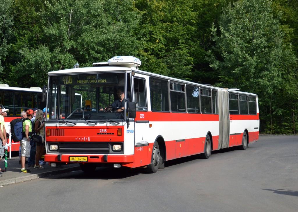 Fotogalerie » Karosa B741.1924 BSC 62-04 2315 | Ostrovačice | Ostrovačice, start