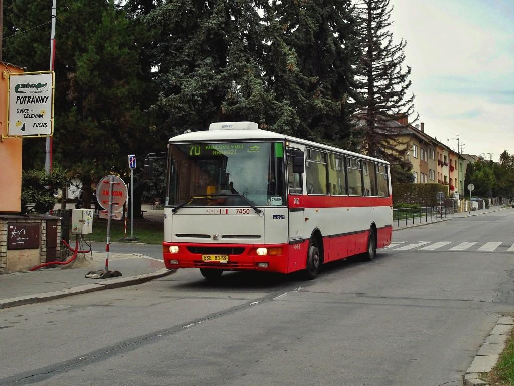 Fotogalerie » Karosa B931E.1707 BSE 83-59 7450 | Brno | Řečkovice | Měřičkova