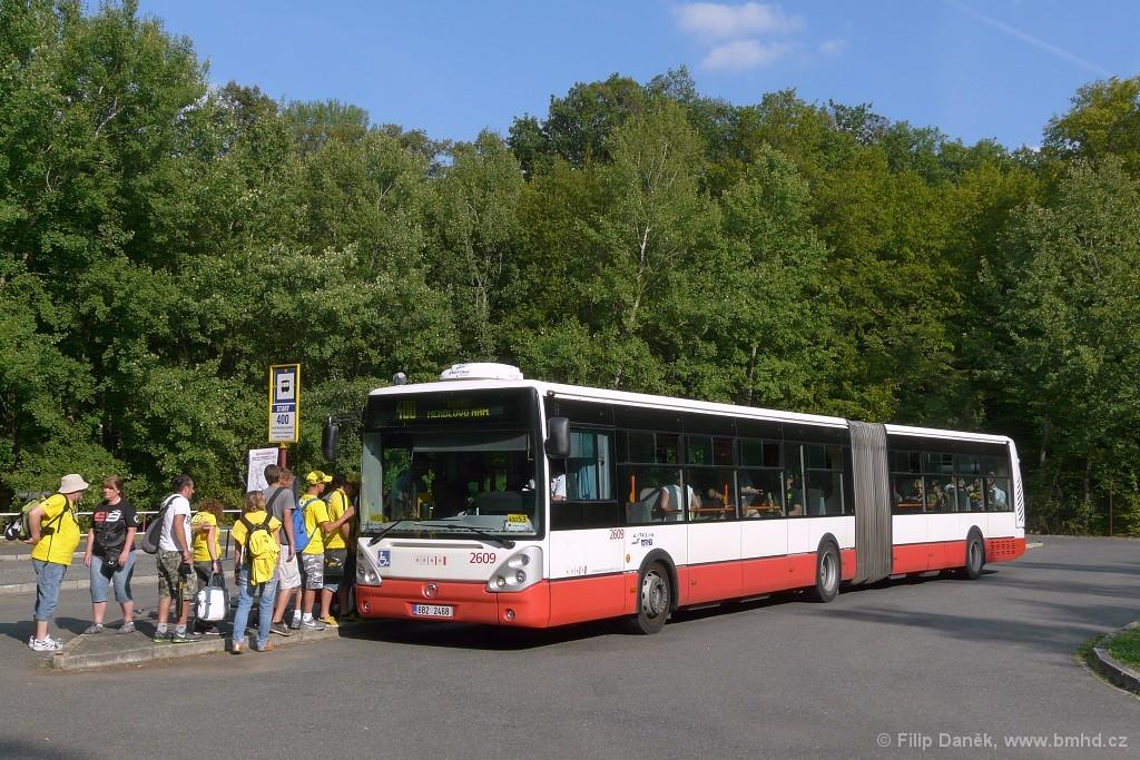 Fotogalerie » Irisbus Citelis 18M 6B2 2468 2609 | Ostrovačice | Ostrovačice, start