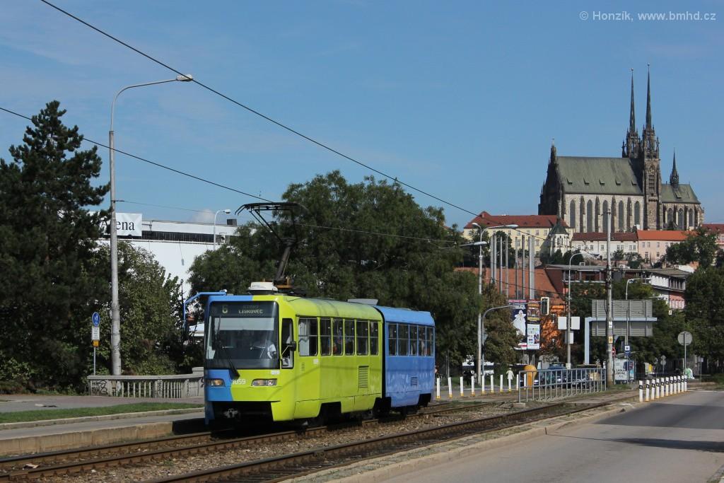 Fotogalerie » ČKD Tatra K2R03 1059 | Brno | Štýřice | Renneská třída