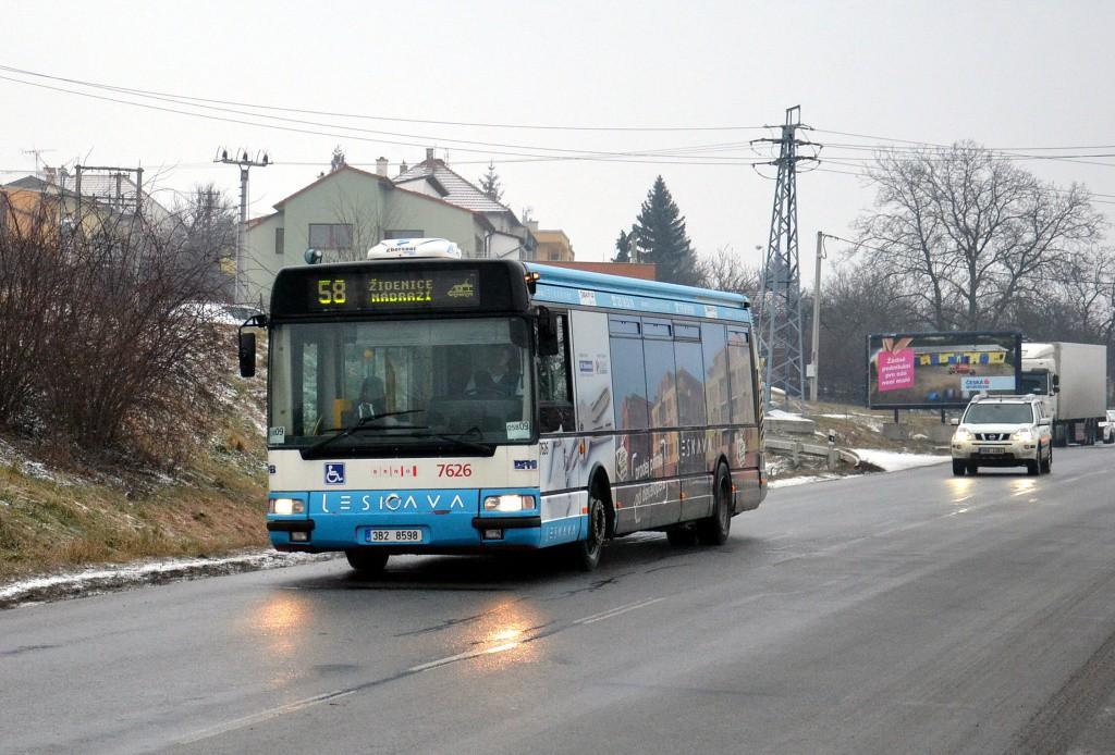 Fotogalerie » Irisbus Citybus 12M 2071.40 3B2 8598 7626 | Brno | Líšeň | Trnkova