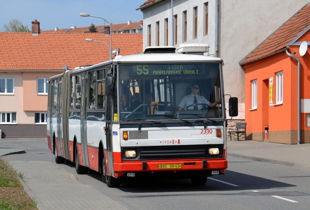 Fotogalerie » Karosa B741.1924 BSC 50-43 2330 | Brno | Líšeň | Ondráčkova