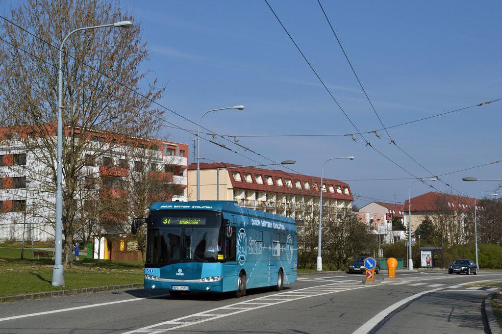 Fotogalerie » Škoda Perun 26BB HE 6P0 2180 | Brno | Kohoutovice | Libušina třída