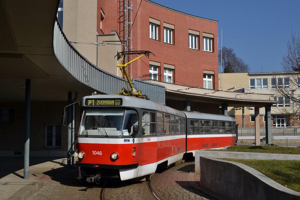 Fotogalerie » ČKD Tatra K2P 1046 | Brno | Pisárky | Hlinky | Pisárky