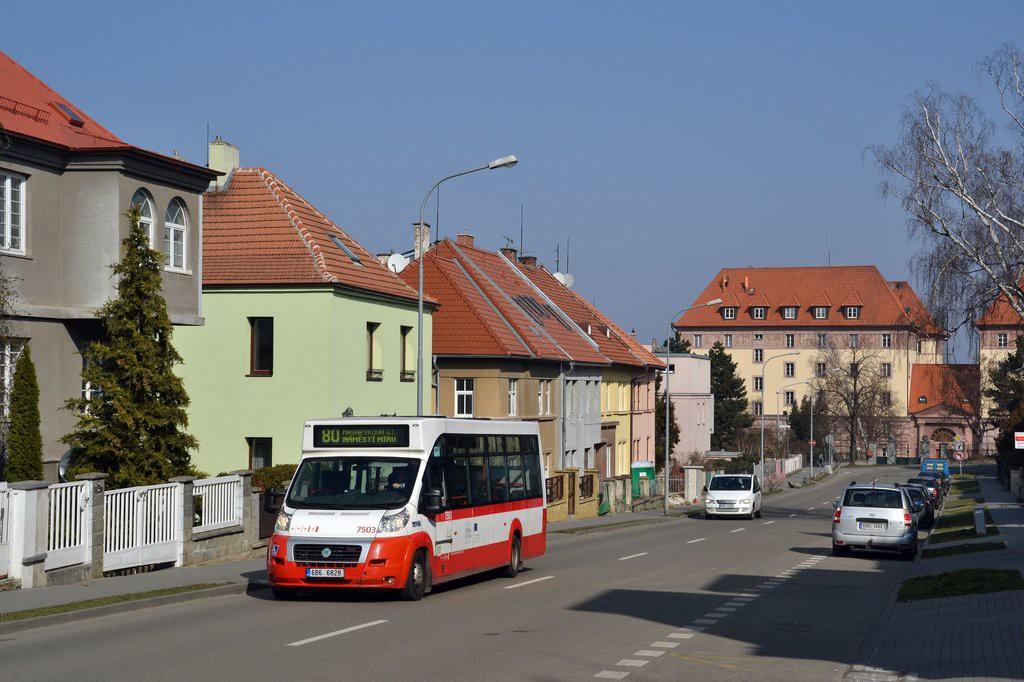Fotogalerie » MAVE-Fiat CiBus ENA MAXI 6B6 6828 7503 | Brno | Žabovřesky | Březinova
