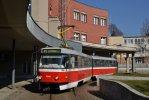 Setkání návštěvníků proběhne u tramvajové smyčky před vjezdem do vozovny