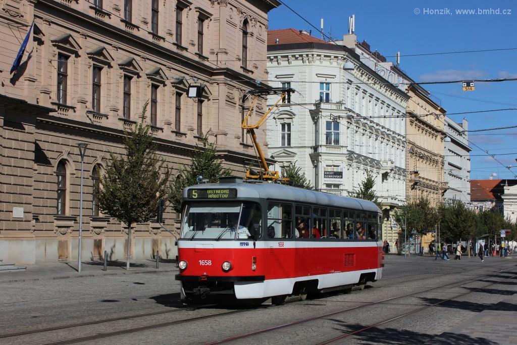 Fotogalerie » Pragoimex T3R.PV 1658 | Brno | střed | Joštova