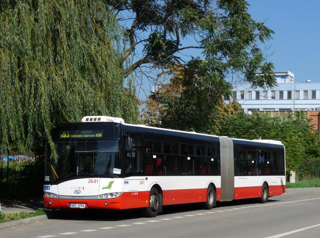 Fotogalerie » Solaris Urbino 18 III 9B7 9152 2641 | Brno | Židenice | Koperníkova