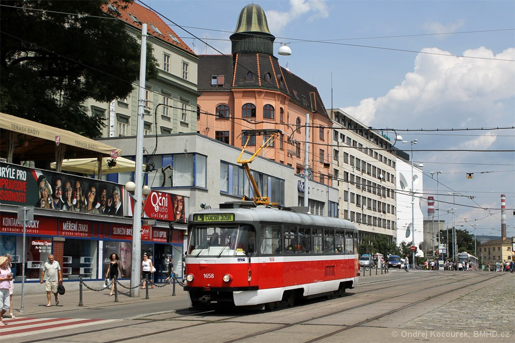 Fotogalerie » Pragoimex T3R.PV 1658 | Brno | střed | Nádražní