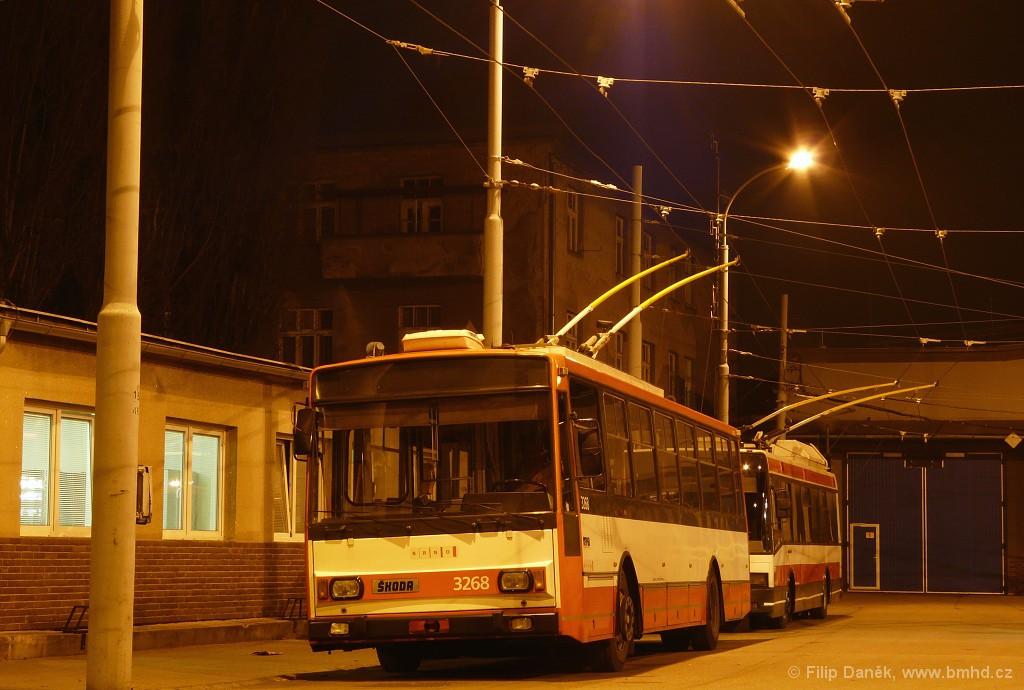 Fotogalerie » Škoda 14TrR 3268 | Brno | Vozovna Husovice