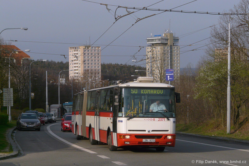 Fotogalerie » Karosa B961E.1970 2B4 9311 2371 | Brno | Kohoutovice | Libušina třída