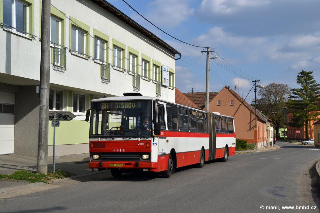 Fotogalerie » Karosa B741.1916 BSC 28-97 2301 | Čebín | Čebín, náměstí
