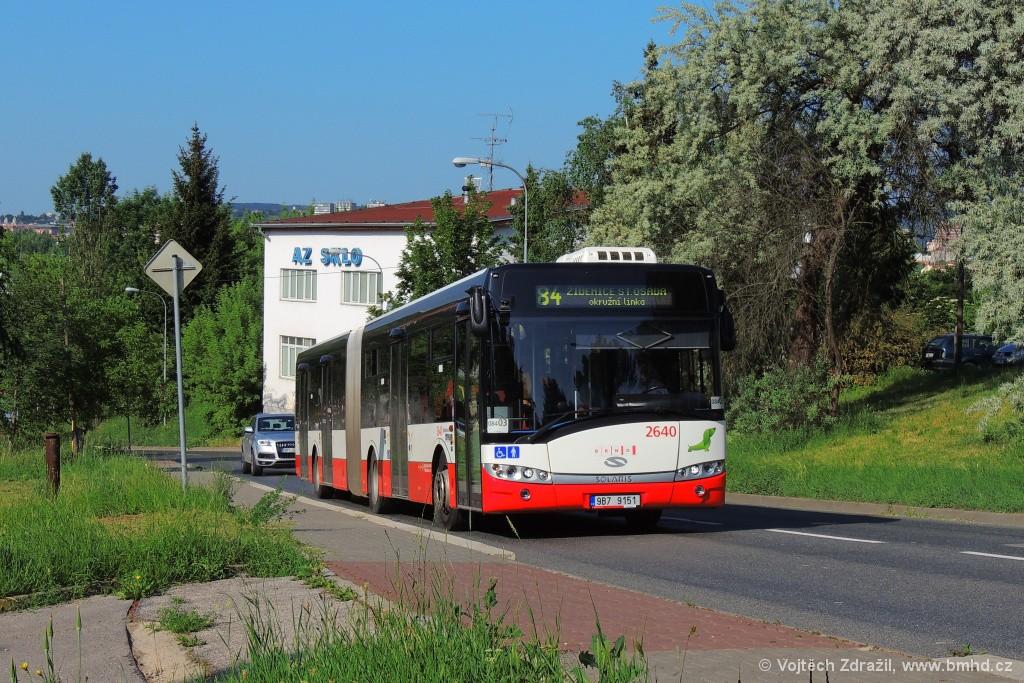 Fotogalerie » Solaris Urbino 18 III 9B7 9151 2640 | Brno | Lesná | Třískalova