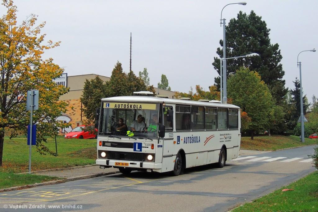 Fotogalerie » Karosa B732.1654.3 BZM 84-69 5320 | Brno | Starý Lískovec | Labská | Labská