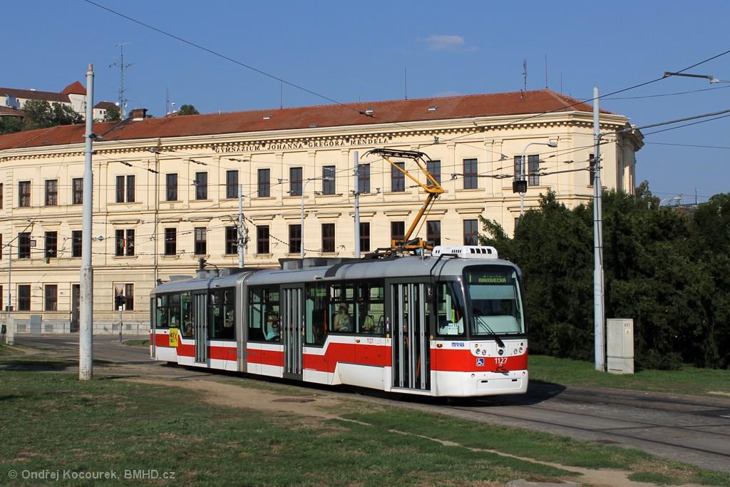 Fotogalerie » Pragoimex VarioLF2R.E 1127 | Brno | Staré Brno | Mendlovo náměstí