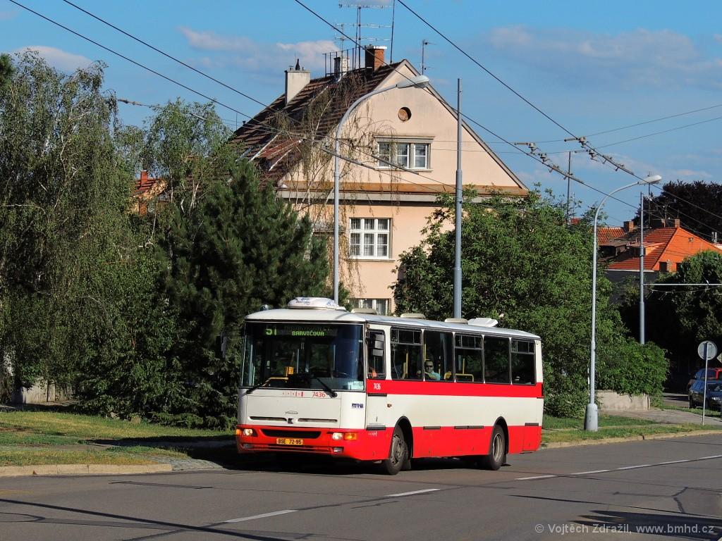 Fotogalerie » Karosa B931.1675 BSE 72-95 7436 | Brno | Masarykova čtvrť | Barvičova