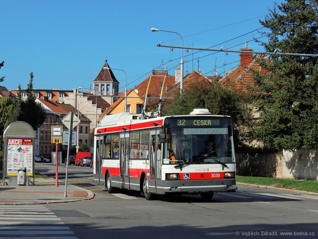 Fotogalerie » Škoda 21Tr 3038 | Brno | Královo Pole | Chodská