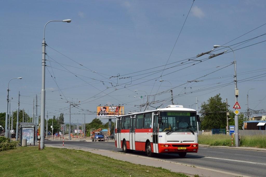Fotogalerie » Karosa B931E.1707 BSH 16-27 7465 | Brno | Slatina | Hviezdoslavova | Černovičky