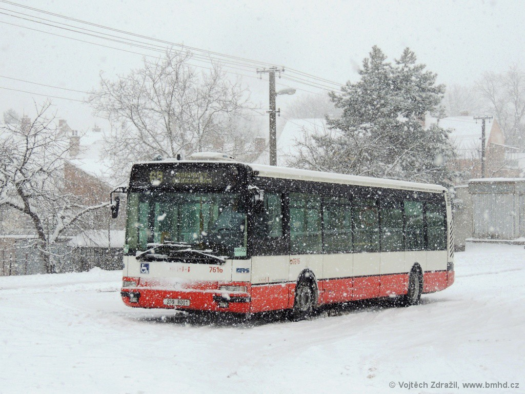 Fotogalerie » Irisbus Citybus 12M 2071.40 2B9 8001 7616 | Brno | Bosonohy | U smyčky | Bosonohy
