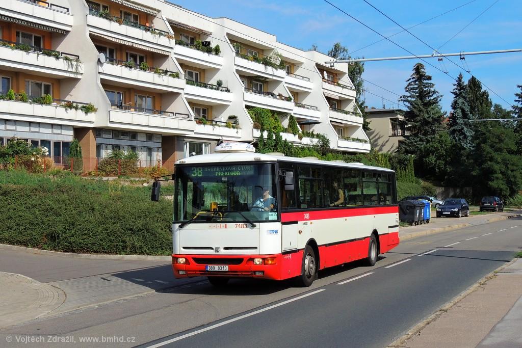 Fotogalerie » Karosa B951E.1713 3B9 8313 7483 | Brno | Masarykova Čtvrť | Preslova
