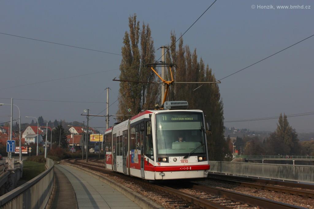 Fotogalerie » Škoda 03T6 1810   Brno   Bystrc