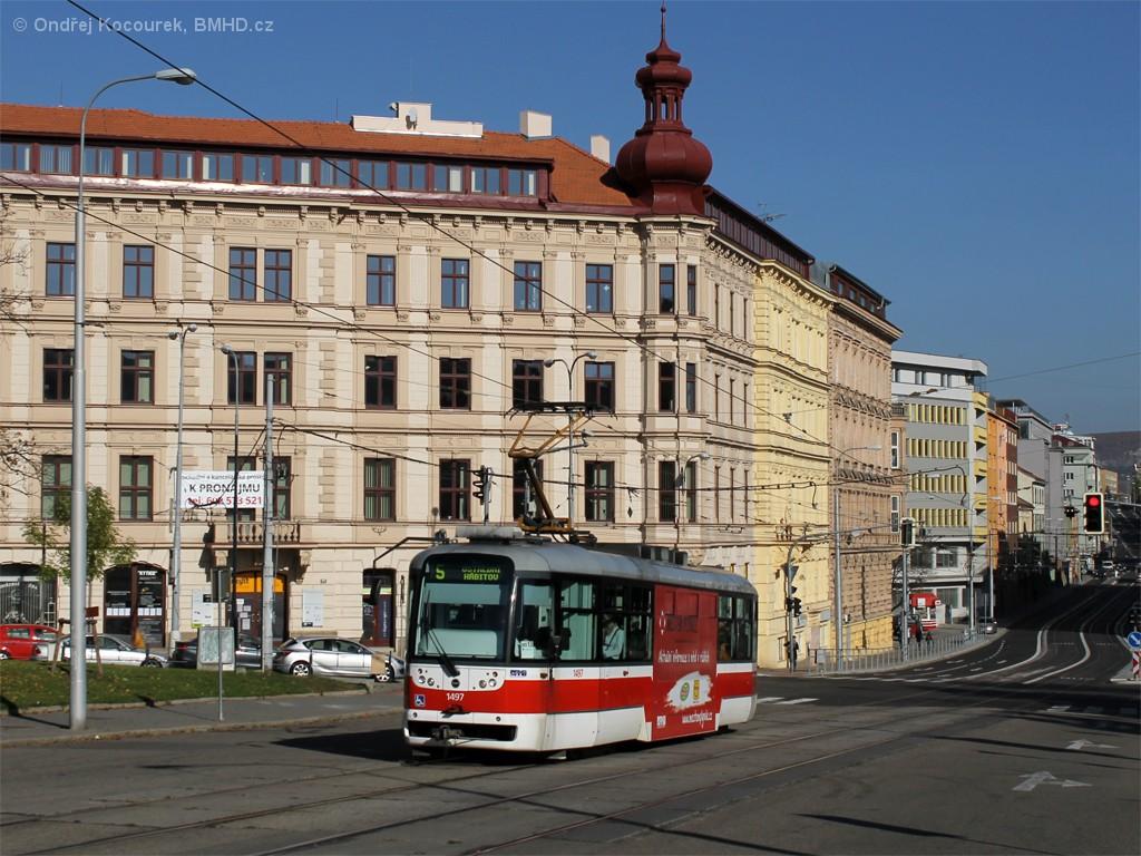 Fotogalerie » Pragoimex VarioLFR.E 1497   Brno   střed   Moravské náměstí